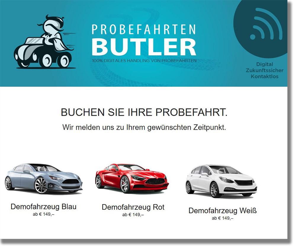 Fahrzeugmiete und Abo online verwalten