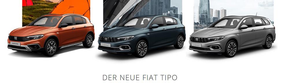Probefahr-Kampagne Fiat Tipo